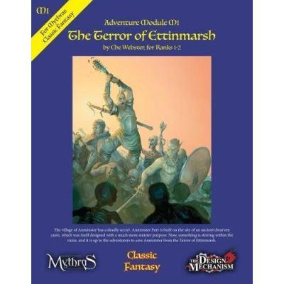 The Terror of Ettinmarsh: Classic Fantasy Module M1 - [Livre en VO]
