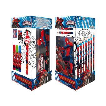 Kit Coloriage Spiderman 25 Pieces Autres Jeux Creatifs Achat Prix Fnac