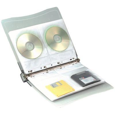 Classeur avec 10 Pochettes pour 4 CD/DVD