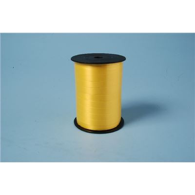 Ruban Curl 250mx10mm - jaune