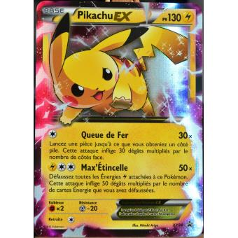 carte pok mon xy84 pikachu ex 130 pv promo jeu de cartes. Black Bedroom Furniture Sets. Home Design Ideas