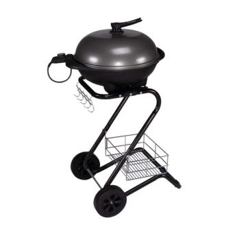 barbecue lectrique sur chariot paname cuisiner en. Black Bedroom Furniture Sets. Home Design Ideas