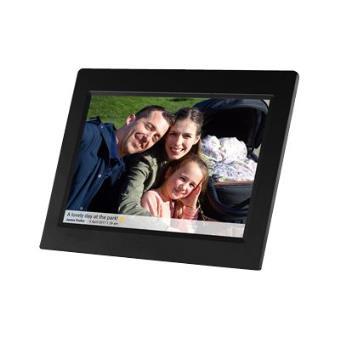 Cadre photo numérique YONIS Cadre photo numérique hd télécommande 15 pouces  noir