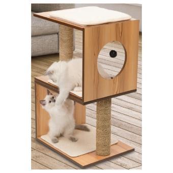 vesper arbre chat stool naturel paniers et mobilier pour chat achat prix fnac. Black Bedroom Furniture Sets. Home Design Ideas
