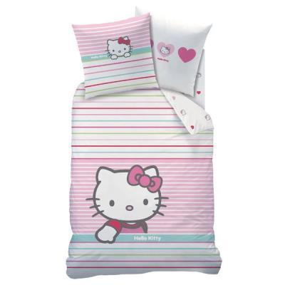 Parure de lit : hello kitty cti chaulnes tex