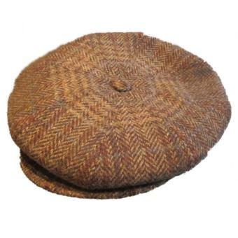 nouveau concept c2362 9c1fc casquette vintage beige marron foncé 100% laine taille 54 cm homme femme  enfant rockabilly pin up