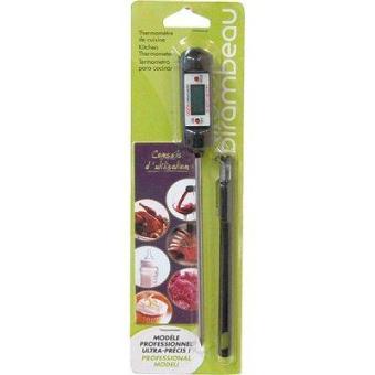 Birambeau thermom tre electronique de cuisine stylo sonde achat prix fnac - Prix thermometre cuisine ...