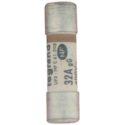Legrand cartouche fusible pour porte-fusible avec témoin 32a 7360w 1068598