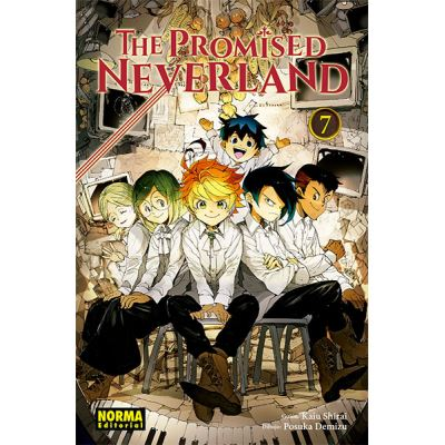 The Promised Neverland 7 - [Livre en VO]