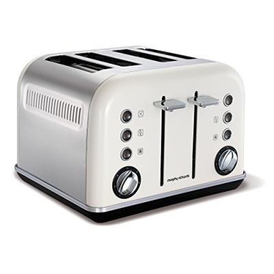 Morphy richards accents grille-pain 4 fente blanc