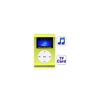 lecteur baladeur MP3 Vert LCD Micro-SD
