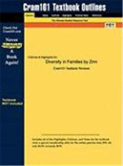 Outlines & Highlights for Diversity in Families by Zinn ISBN: 0205491561
