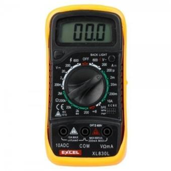 Multimètre Digital LCD Neuf 2 Cordons DT830B Neuf