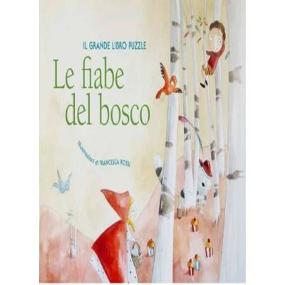 Fairy Tales in the Woods: Puzzlebook - [Livre en VO]