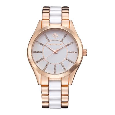 Timothy Stone - CHARME - Montre Femme - Or rose,Blanc