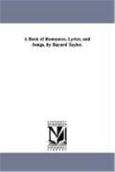 A Book of Romances, Lyrics, and Songs