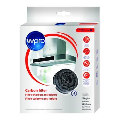 Filtre de hotte anti odeurs Wpro FILTRE DE HOTTE AKB0001