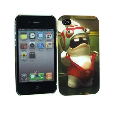 Coque Catch Lapins Cretins pour iPhone 4S