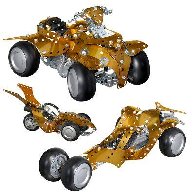 Meccano - Quad - Design 3 New Generation - 10 modèles : 300 pièces