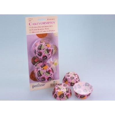 patisse 01760 caissette à cupcakes en papier sulfurise motifs enfantins 5 cm