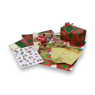 Pièces emballage cadeaux - lot de 160