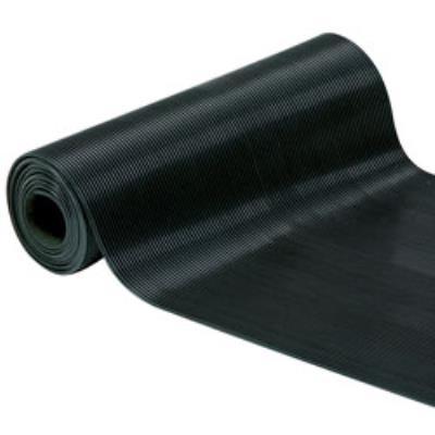 Id mat tapis fines stries noir ep3mm 1x10m