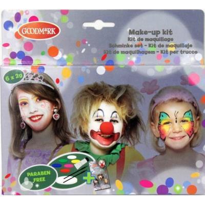 Palette maquillage 6 couleurs fille taille unique