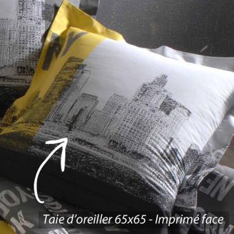 Taie D Oreiller 65x65.Taie D Oreiller 65x65 Cm 100 Coton New York