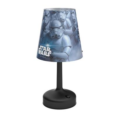 Philips 717963016 star wars stormtroopers lampe de chevet portable à piles led plastique noir 26 x 10 x 10 cm