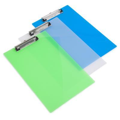 Porte-Bloc Givré Transparent pour A4 Coloris aléatoire