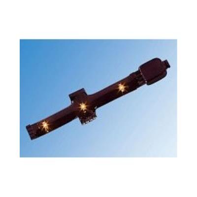 Croix pour module LED SMD - orange