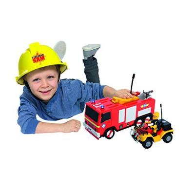 Dickie - 203099612038 - sam le pompier - radio-commandé - jupiter - echelle 1/24