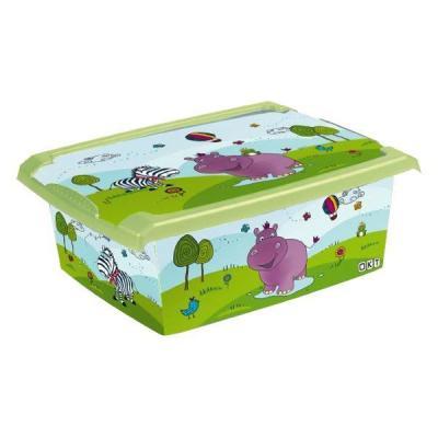 PLASTOREX - PLASTOREX Boîte de rangement Hippo 10 L