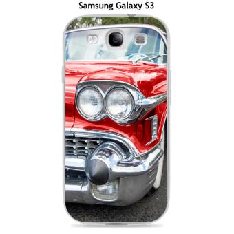 Coque Samsung Galaxy S3 design Voiture americaine rouge