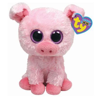 Ty – Beanie Boos – Daisy la Vache – Peluche 14 cm