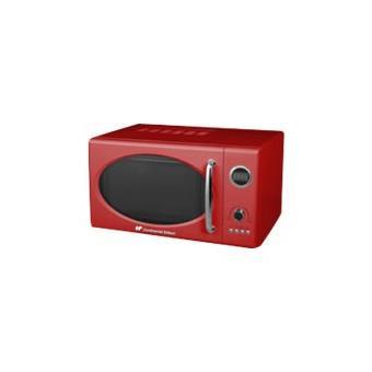 continental edison 23ux47r four micro ondes monofonction pose libre noir rouge achat. Black Bedroom Furniture Sets. Home Design Ideas