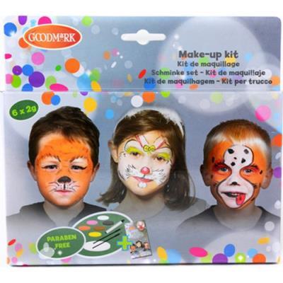 Palette maquillage 6 couleurs animaux taille unique