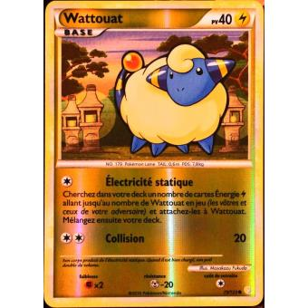 73//123 Wattouat HS:HeartGold SoulSilver Carte Pokemon Neuve Française