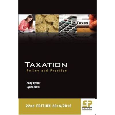 Taxation: Policy and Practice 2015/16