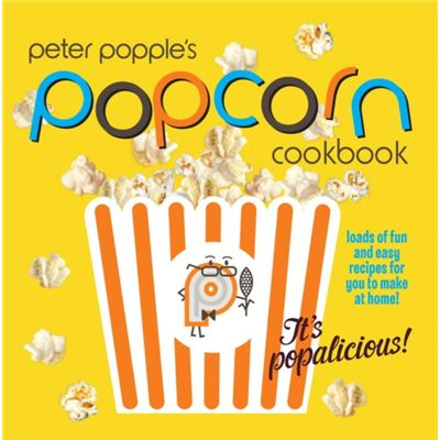 Peter Popple's Popcorn Cookbook Gift Set!
