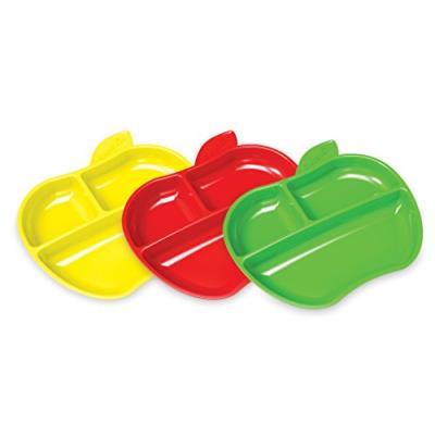 Munchkin 3 assiettes petite pomme multicolore