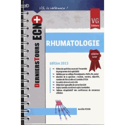 Rhumatologie. Edition 2013