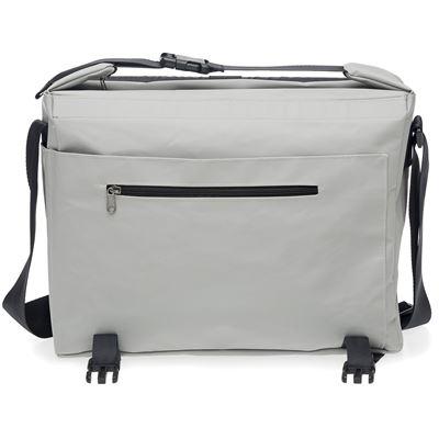 Sacoche / sac à bandoulière New Looxs Postino Office Blanc Gris - 14 litres