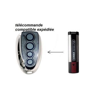 T l commande porte de garage compatible sommer henderson for Achat telecommande porte garage