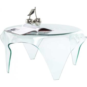 Table Basse Transparente Visible Clear Kare Design Achat