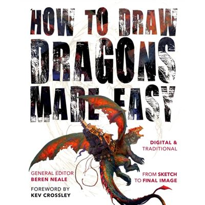 How To Draw Dragons Made Easy (Made Easy (Art)) (Paperback)