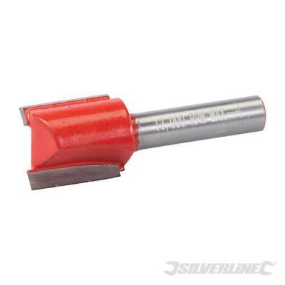 Fraise droite de 8 mm métrique Silverline
