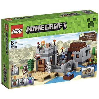 De Minecraft Désert Lego 21121 L'avant Jeu Construction Dans Le Poste 4A5R3Lcqj