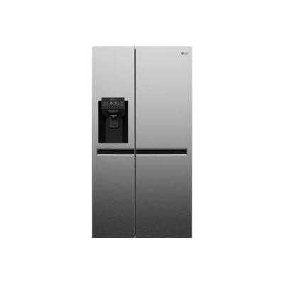 LG GSL6611PS - réfrigérateur/congélateur - côte-à-côte - pose libre - inox platiné