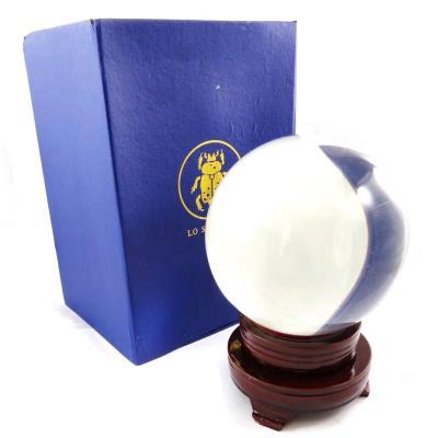 Boule de cristal 'Oracle' 15 cm